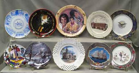 Commemorative Dinnerware Plates